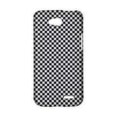 Sports Racing Chess Squares Black White LG L90 D410