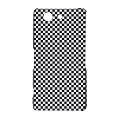 Sports Racing Chess Squares Black White Sony Xperia Z3 Compact