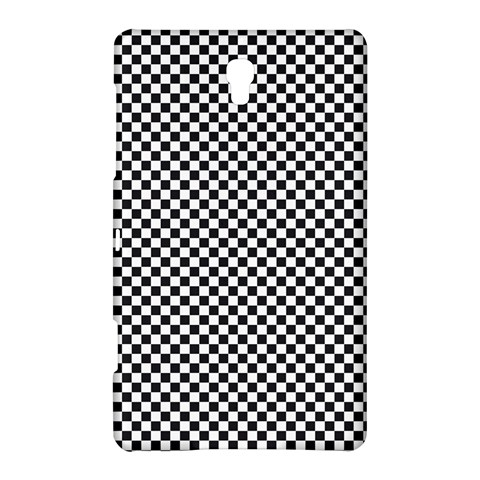 Sports Racing Chess Squares Black White Samsung Galaxy Tab S (8.4 ) Hardshell Case