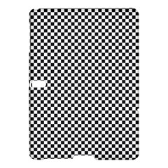 Sports Racing Chess Squares Black White Samsung Galaxy Tab S (10 5 ) Hardshell Case
