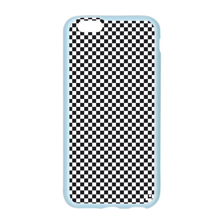Sports Racing Chess Squares Black White Apple Seamless iPhone 6/6S Case (Color)