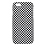 Sports Racing Chess Squares Black White iPhone 6/6S TPU Case Front