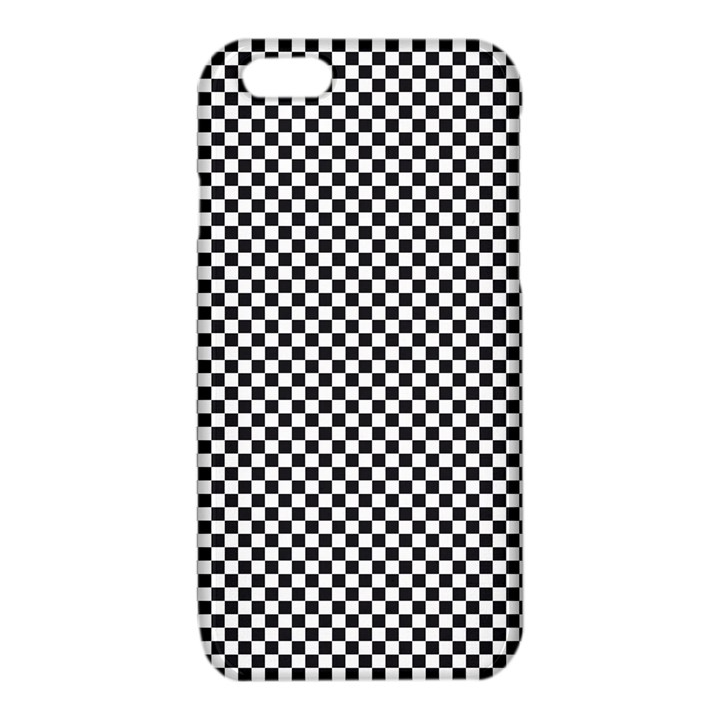 Sports Racing Chess Squares Black White iPhone 6/6S TPU Case