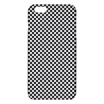 Sports Racing Chess Squares Black White iPhone 6 Plus/6S Plus TPU Case Front