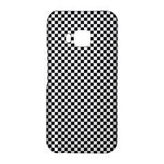 Sports Racing Chess Squares Black White HTC One M9 Hardshell Case