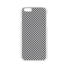 Sports Racing Chess Squares Black White Apple Seamless iPhone 6/6S Case (Transparent)