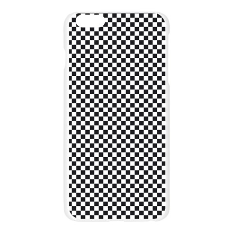 Sports Racing Chess Squares Black White Apple Seamless iPhone 6 Plus/6S Plus Case (Transparent)
