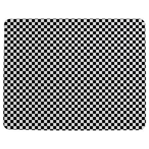 Sports Racing Chess Squares Black White Jigsaw Puzzle Photo Stand (Rectangular)