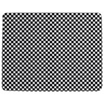 Sports Racing Chess Squares Black White Jigsaw Puzzle Photo Stand (Rectangular) Front