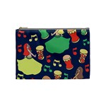 Belly Dance Hafla Doumbek  Cosmetic Bag (Medium)  Front
