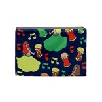 Belly Dance Hafla Doumbek  Cosmetic Bag (Medium)  Back