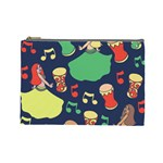 Belly Dance Hafla Doumbek  Cosmetic Bag (Large)  Front