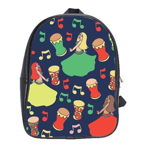 Belly Dance Hafla Doumbek  School Bags(Large)