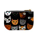 Cats Mini Coin Purses Back