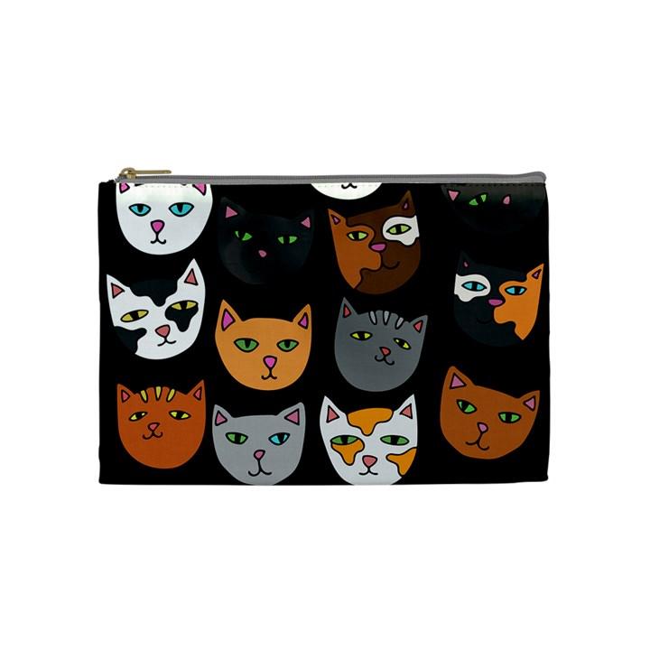 Cats Cosmetic Bag (Medium)