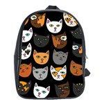 Cats School Bags(Large)  Front