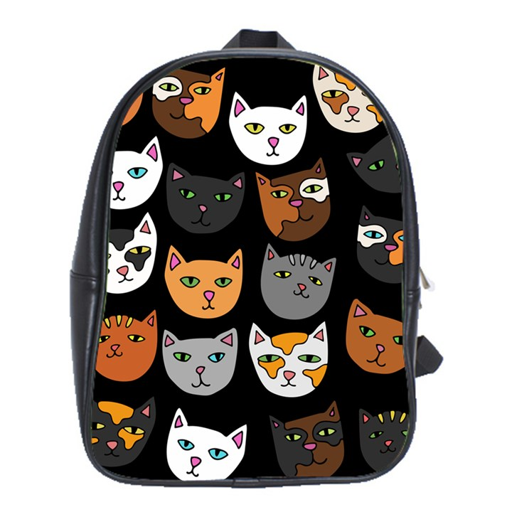 Cats School Bags(Large)