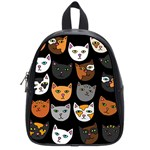 Cats School Bags (Small)  Front