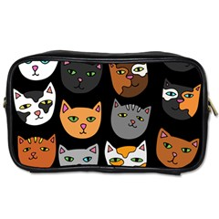Cats Toiletries Bags 2-Side