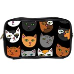 Cats Toiletries Bags 2-Side Back