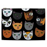 Cats Cosmetic Bag (XXL)  Front