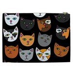 Cats Cosmetic Bag (XXL)  Back