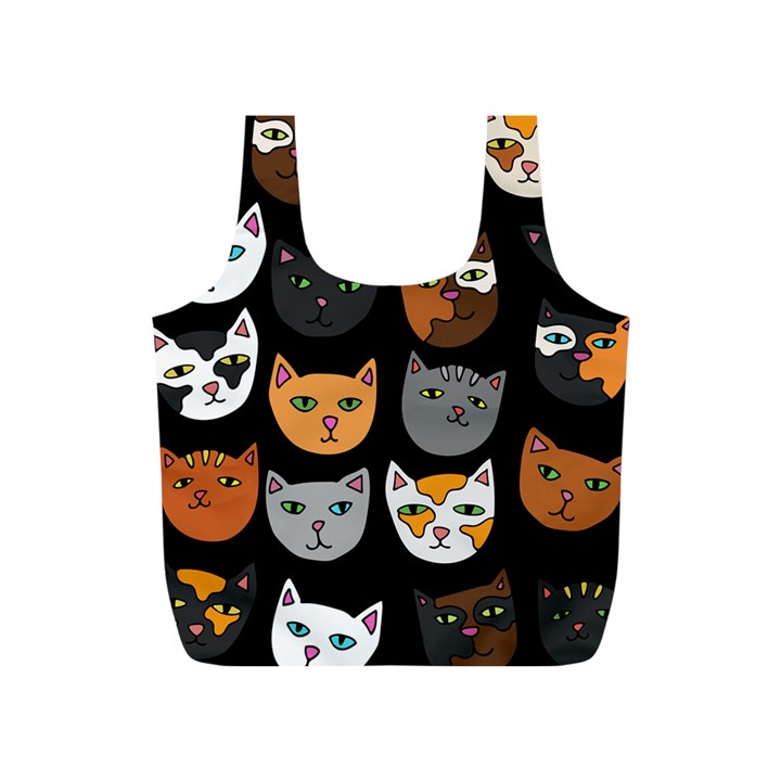 Cats Full Print Recycle Bags (S)