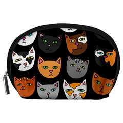 Cats Accessory Pouches (Large)