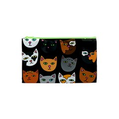 Cats Cosmetic Bag (XS)