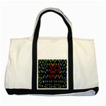 ;; Two Tone Tote Bag Front