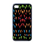 ;; Apple iPhone 4 Case (Black) Front