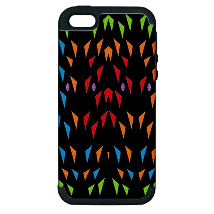 ;; Apple iPhone 5 Hardshell Case (PC+Silicone)