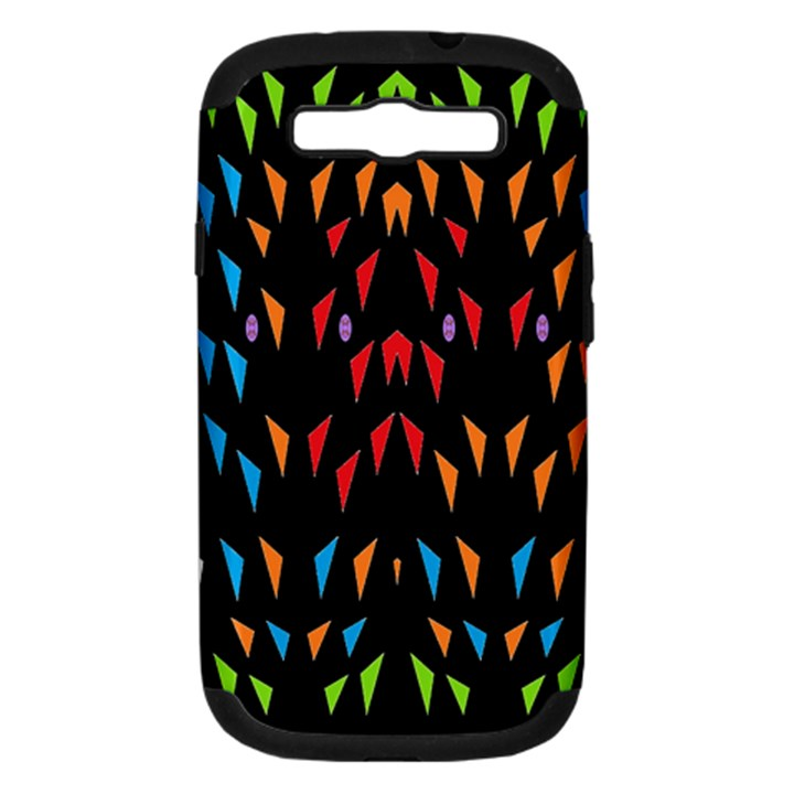;; Samsung Galaxy S III Hardshell Case (PC+Silicone)