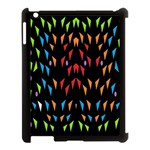 ;; Apple iPad 3/4 Case (Black) Front