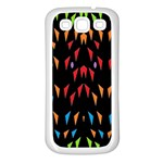 ;; Samsung Galaxy S3 Back Case (White) Front