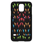 ;; Samsung Galaxy S5 Case (Black) Front