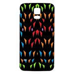 ;; Samsung Galaxy S5 Back Case (White) Front