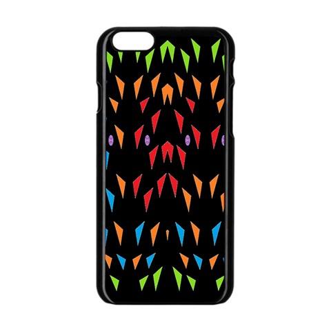 ;; Apple iPhone 6/6S Black Enamel Case