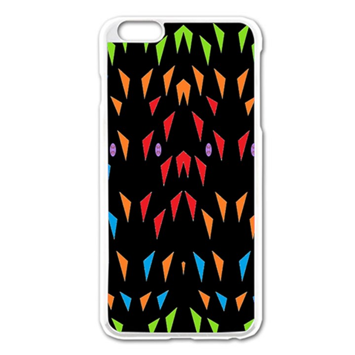 ;; Apple iPhone 6 Plus/6S Plus Enamel White Case