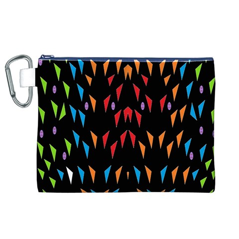 ;; Canvas Cosmetic Bag (XL)