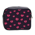 Pattern Of Vampire Mouths And Fangs Mini Toiletries Bag 2-Side Back