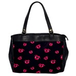Pattern Of Vampire Mouths And Fangs Office Handbags Front