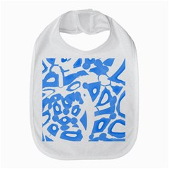 Blue summer design Bib