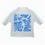 Blue summer design Infant/Toddler T-Shirts Back