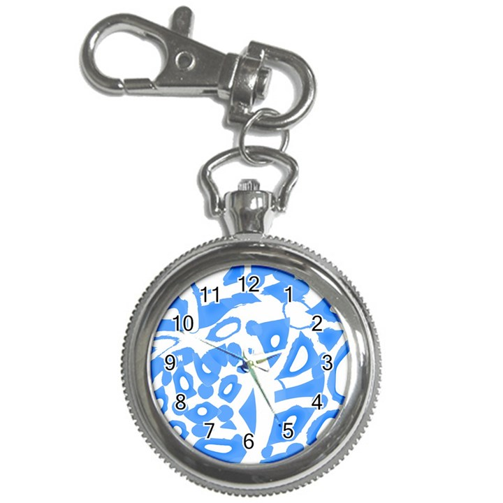 Blue summer design Key Chain Watches
