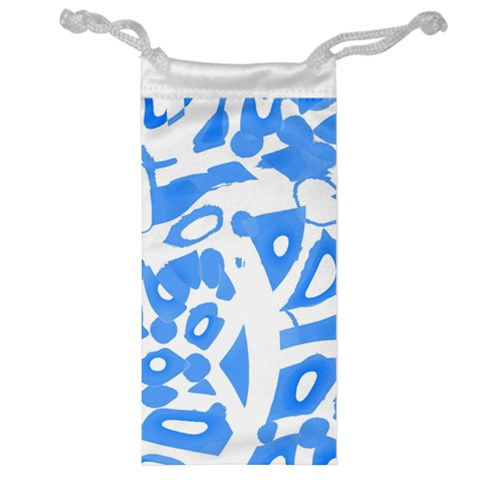 Blue summer design Jewelry Bags