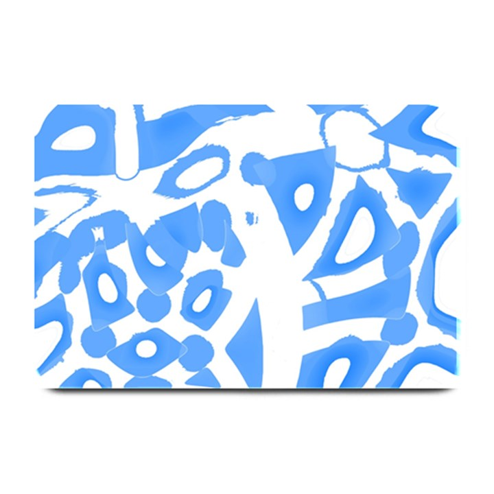 Blue summer design Plate Mats