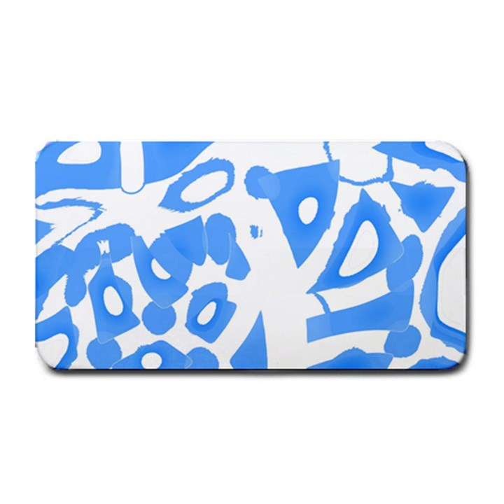 Blue summer design Medium Bar Mats