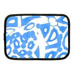 Blue summer design Netbook Case (Medium)  Front