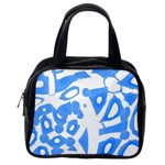 Blue summer design Classic Handbags (One Side) Front